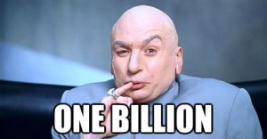 Dr.Evil One Billion
